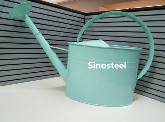 Large Galvanized Zinc Material Watering Can for Garden Decoration pictures & photos