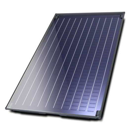 Flat Plate Solar Collector with Blue Titanium Absorber pictures & photos