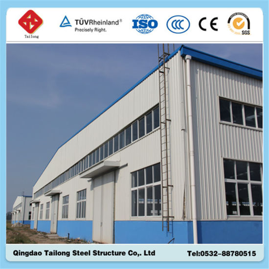 Long Service Steel Prefabricated Structure Warehouse pictures & photos