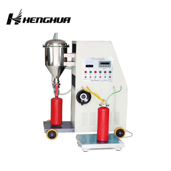 China High Quality CO2 Filling Machine for Fire Extinguisher
