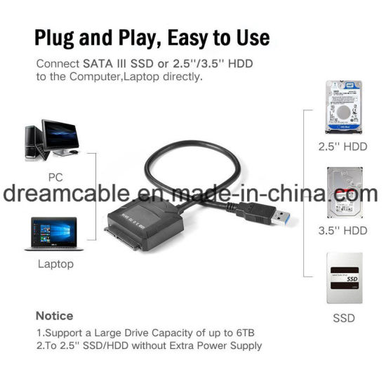 Easydrive USB3.0 to SATA Hard Disk Converter pictures & photos
