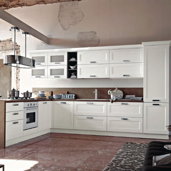Modern Style Mdf Particle Board Plywood Kitchen Cabinets