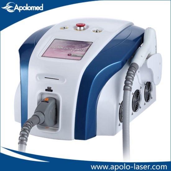 Portbale 808nm Diode Laser Permanent Hair Removal Machine pictures & photos