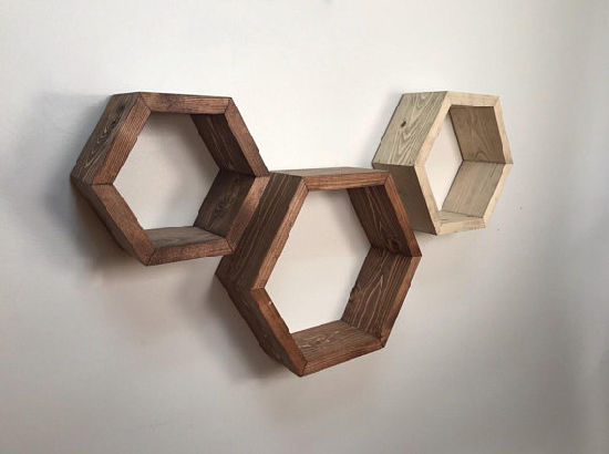 China 3 Hexagon Shelf Honeycomb