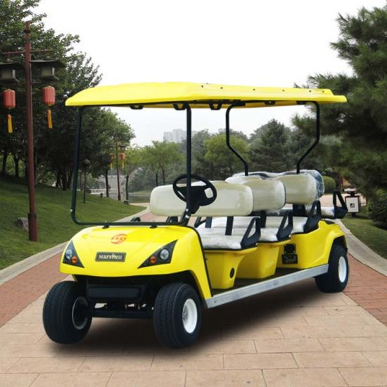 Heavy Duty 8 Person Electric Golf Shuttle Cart with CE (DG-C6+2) pictures & photos