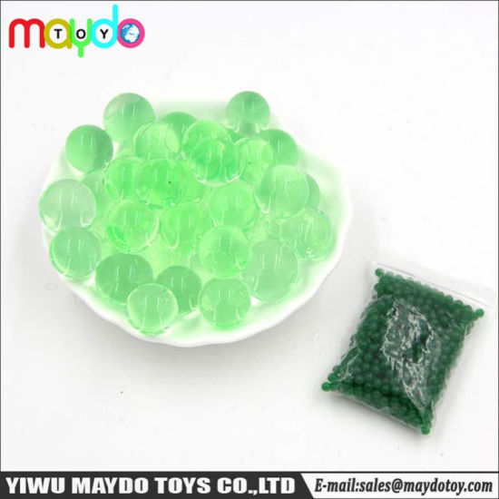 Wholesale Green Water Beads Balls Crystal Soil Pearls Jelly Gel Beads for Orbeez Toy pictures & photos