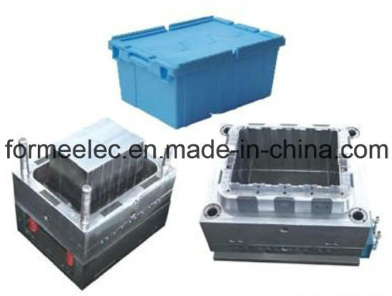 Plastic Crate Injection Mould Manufacture Design Turnover Box Mold