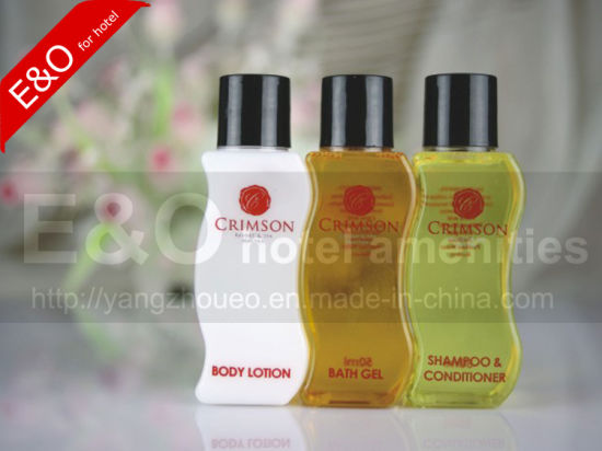 Plastic Disposable Bottle Hotel Shampoo/Bath Gel / Body Lotion / Conditioner