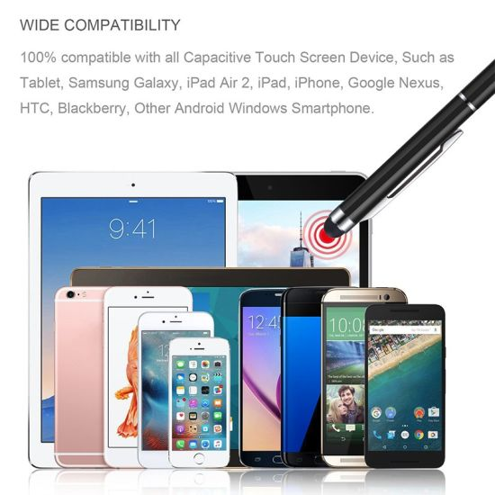 5x New Metal Stylus Touch Screen Pen For iPad iPhone Samsung Tablet PC iPod