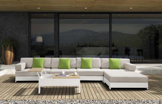 Luxury Modern Outdoor Garden Sling Sofa Set with Cushion (MY-529)