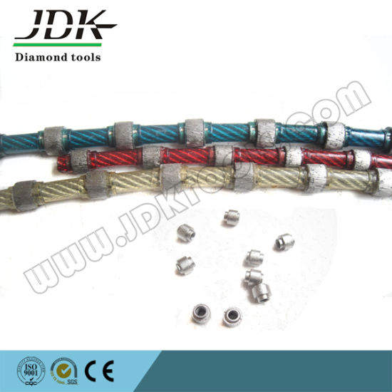 China Diamond Wire Saw for Granite Block Squaring (JMW001) - China ...