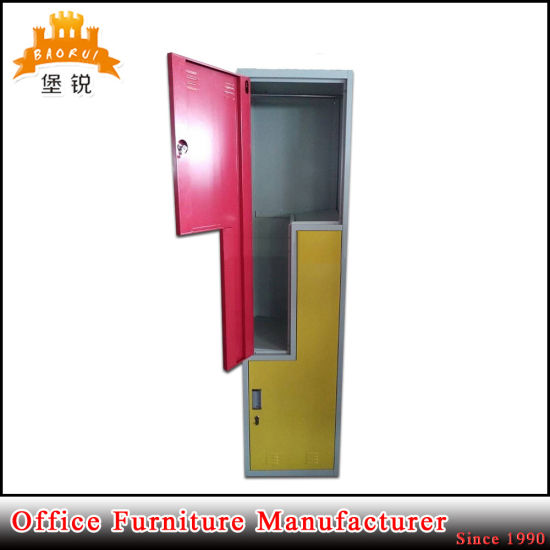 Two Z Shape Door Gym Cabinet Metal Fitness Locker pictures & photos