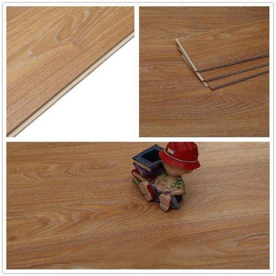 China 5mm Laminate Vinyl Flooring Glue Downdry Backloose Lay