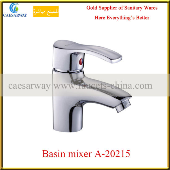 Chromed Basin Mixer Faucet Series a-20215 for Bathroom