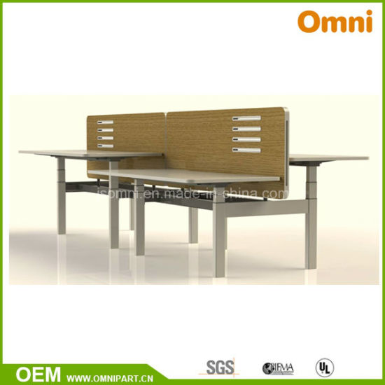 China Top Office Furniture Manufacturers Adjustable Height Desk - Adjustable height table hardware