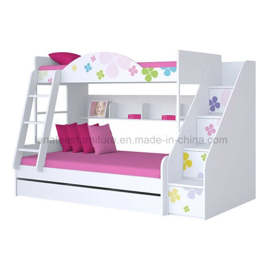 Bd-110 Kids Room Furniture Double Layer Bed pictures & photos