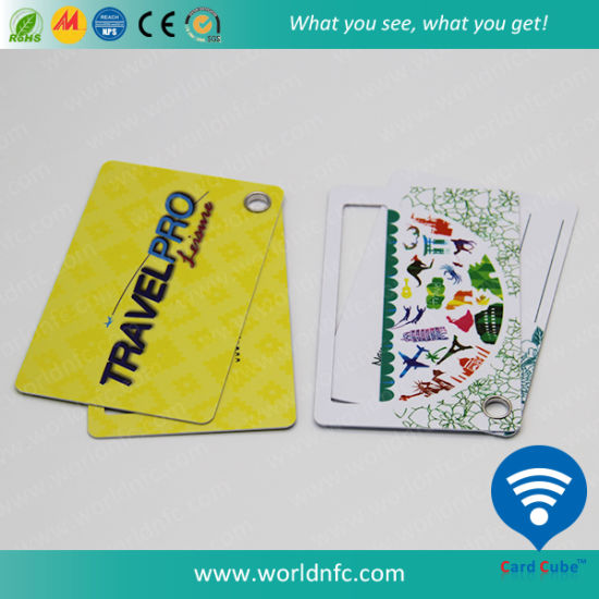 High Quality PVC/Plastic Luggage Card NFC Tag for Identification pictures & photos