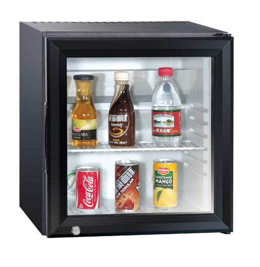 Countertop Locking Mini Display Cooler Glass Door Refrigerator Freezer Xc-28