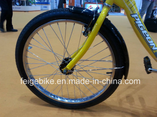 "Good Quality 24"" Rear Coaster Brake Three Wheel Trike Cargo Tricycle (FP-TRCY8603) pictures & photos"