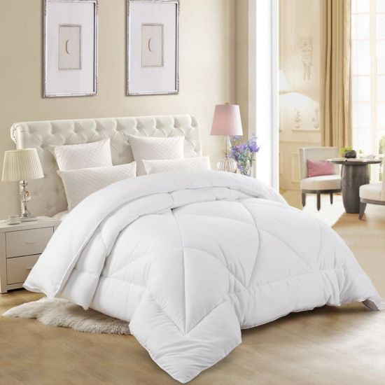 Wholesale Hot Sale Super Soft Import Goose Down Comforter Thick Travel Throw Quilt