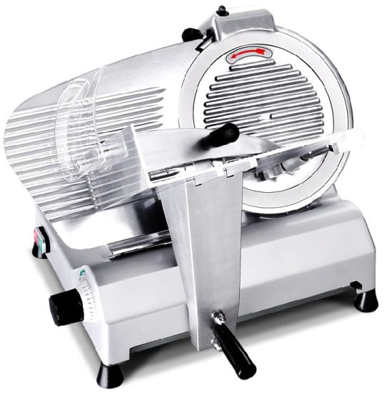 Semi-Auto Meat Slicer Frozen Meat Sclicing Machine 220mm 8inch