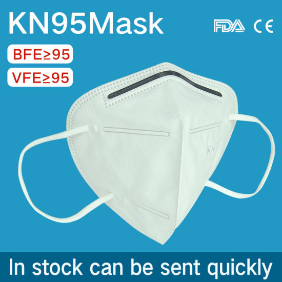Factory Direct Selling Disposable 5-Ply Non-Woven KN95 Protective Face Mask