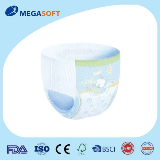 Premium Dual Core Disposable Baby Pants with Elastic Waistband