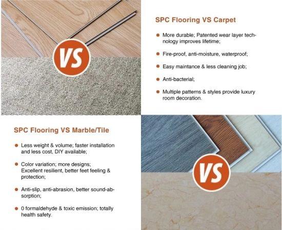 China Hot Er Valinge Spc, Valinge Laminate Flooring Formaldehyde