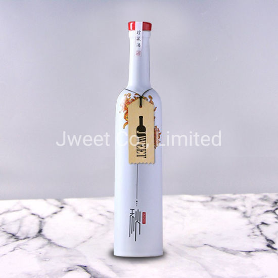 750ml Best Quality Ceramic Bottle with Screw Cap for Tequila