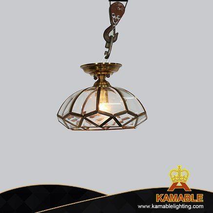 Classical Style Black Iron Pendant Light for Restaurant Use (KJ044)