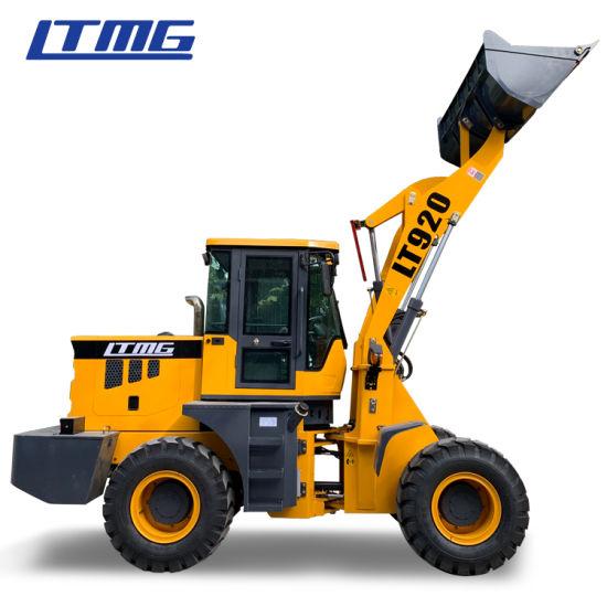 Heavy Equipment Construction Machinery 2 Ton Mini Wheel Loader for Sale