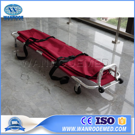 Ea-1A5 Hospital Funeral Folding Cot Mortuary Trolley Transport Stretcher