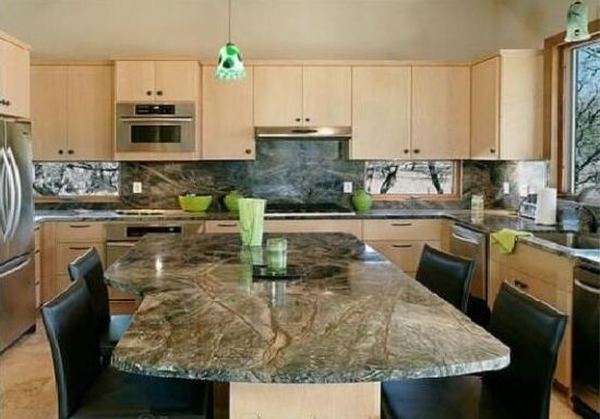 Rain Forest Green Marble Countertop