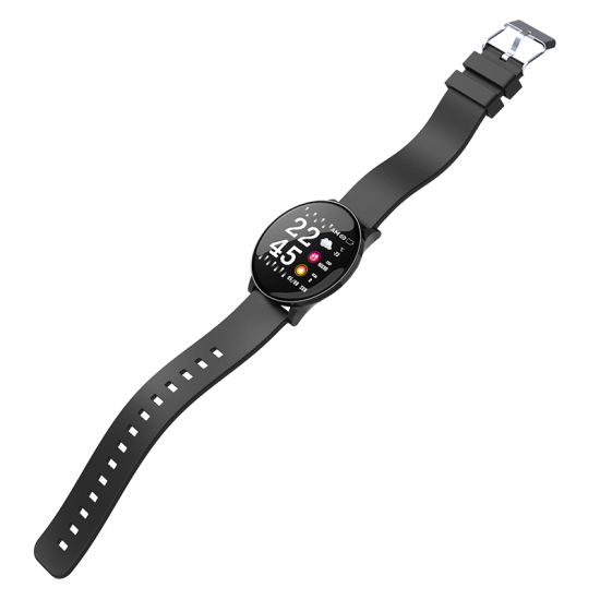 Full Round Touch IP68 Waterproof Real Time Heart Rate Monitoring Fitcloud PRO Smartwatch for Finland Czech Poland Europe Market