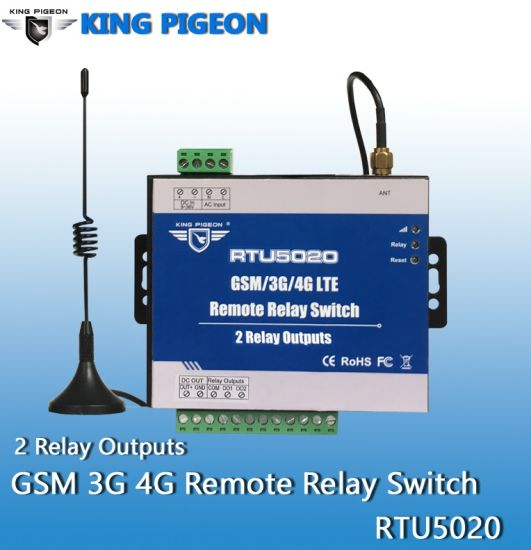 China King Pigeon GSM/GPRS/3G/4G SMS Remote Relay Switches