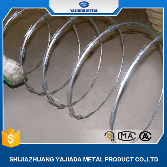 Galvanized Razor Wire Haiti Market