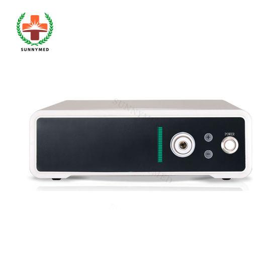 Sy-P041 Portable Endoscopy Accessory 80W LED Endoscope Light Source