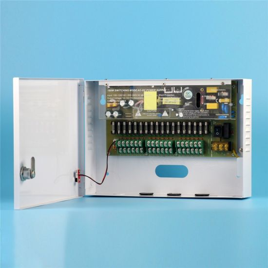 Electrical Equipment Supplies DC 180W 12V 15A Power Supply with Metal Box CCTV pictures & photos