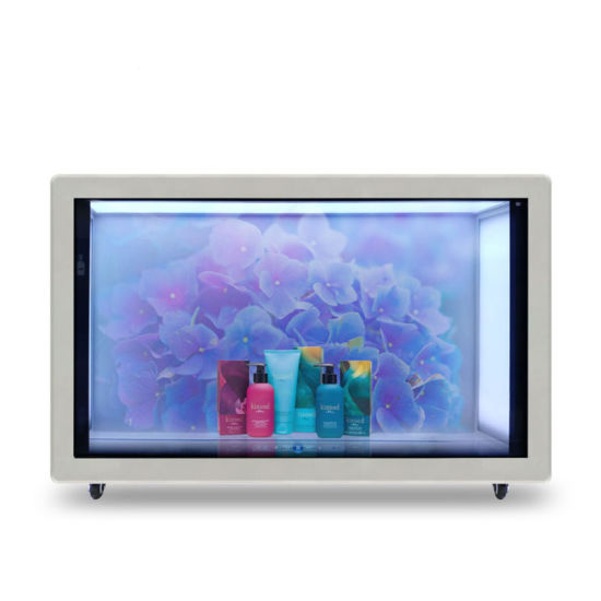 Transparent Advertising Display Transparent Screen with Special Design pictures & photos