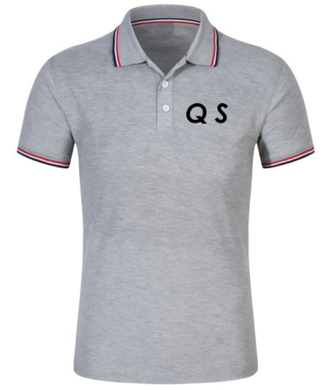 Men's Customized Fashion Print Solid Color Polo T-Shirt