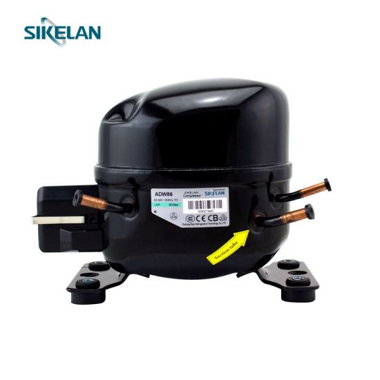Medium AC Compressor Refrigerator/Freezer Use Adw86, Ms Series, R134A, 220V, Lbp, 1/4+HP