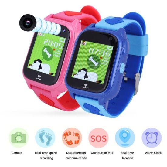538b0601954769 Timethinker M06 Children GPS Smart Watch with Camera Bluetooth Wristwatch SIM  Card Kids Smartwatch Sos Call Waterproof Pk Q90 S6