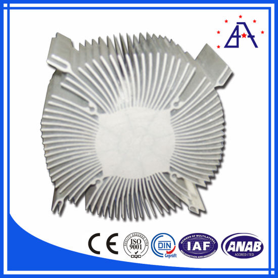 Customized Aluminum Air Cooling Profiles Heat Sink pictures & photos
