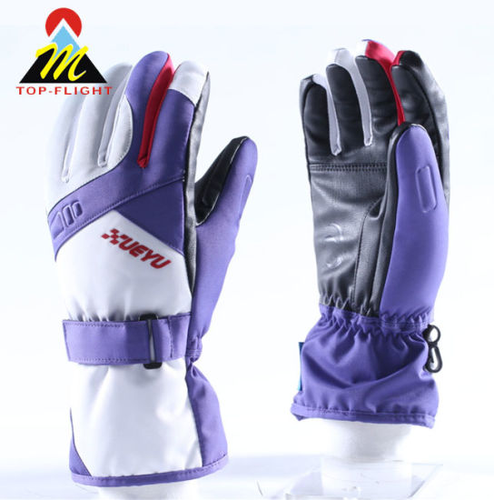 Top Selling Waterproof and Breathable Ski Gloves Snowboard Gloves Motorcycle Riding Winter Touch Screen Snow Gloves
