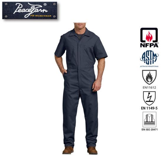 Fr Fire Retardant Safety Coverall Flame Retardant Workwear