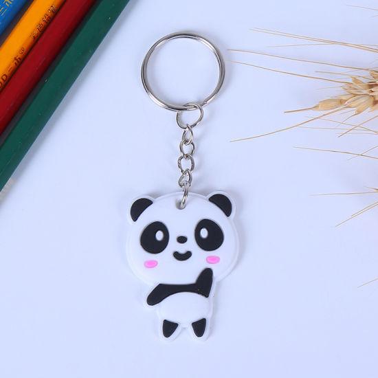 Wholesale No Mold Fee Custom Soft Pvc Panda Keychain China Panda