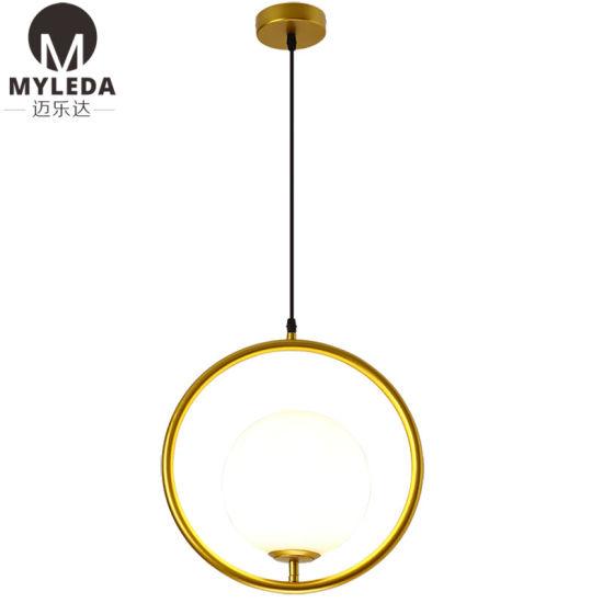 Modern Style Pendant Light Glass Lamp
