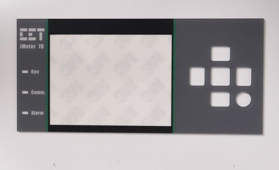 Adhesive PMMA/Pet/PC/Lexan/Plastic Front Panel Sticker/Label/Overlay