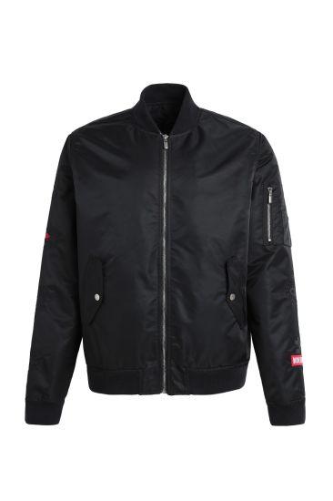 Wholesale Zipper Nylon Custom Logo Bombers Jacket for Sports Fashion