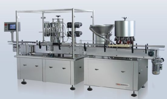 Suspending Liquid Filling and Stoppering Machine